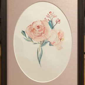 Framed Peonies (original sold)
